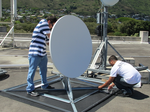 RAPIDCast antenna assembly